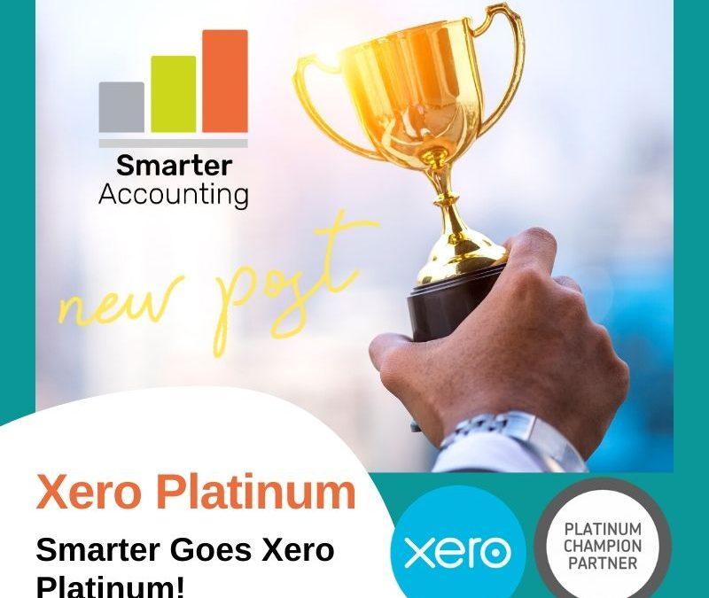 Smarter Goes Xero Platinum