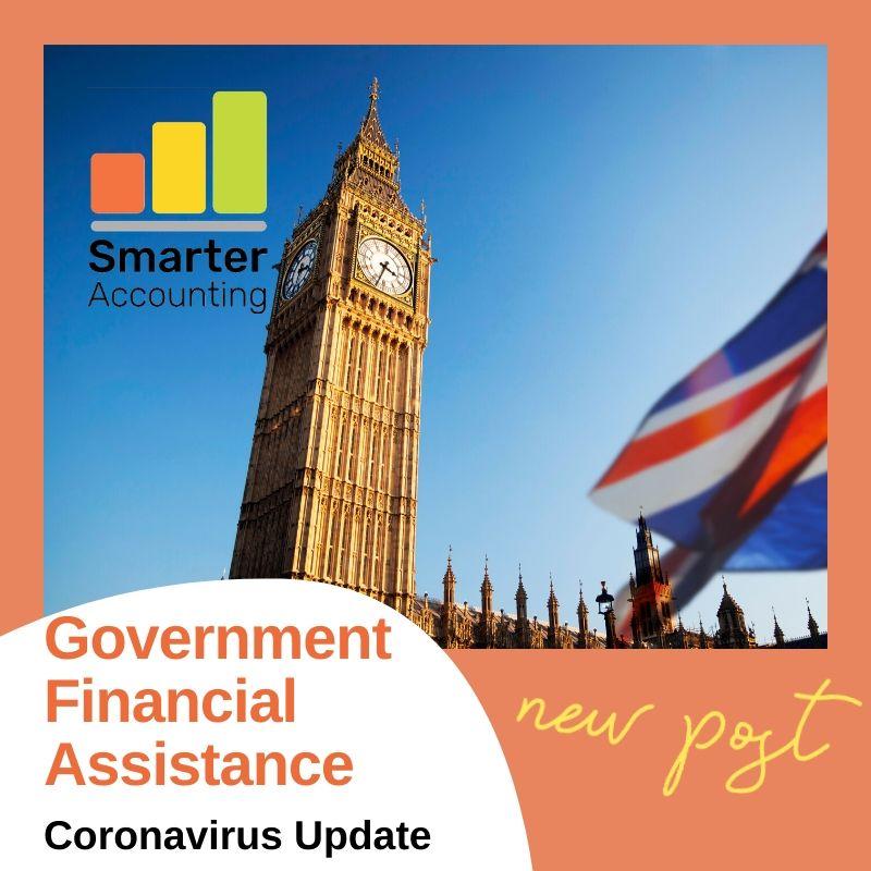 Government Financial Assistance Update – Coronavirus