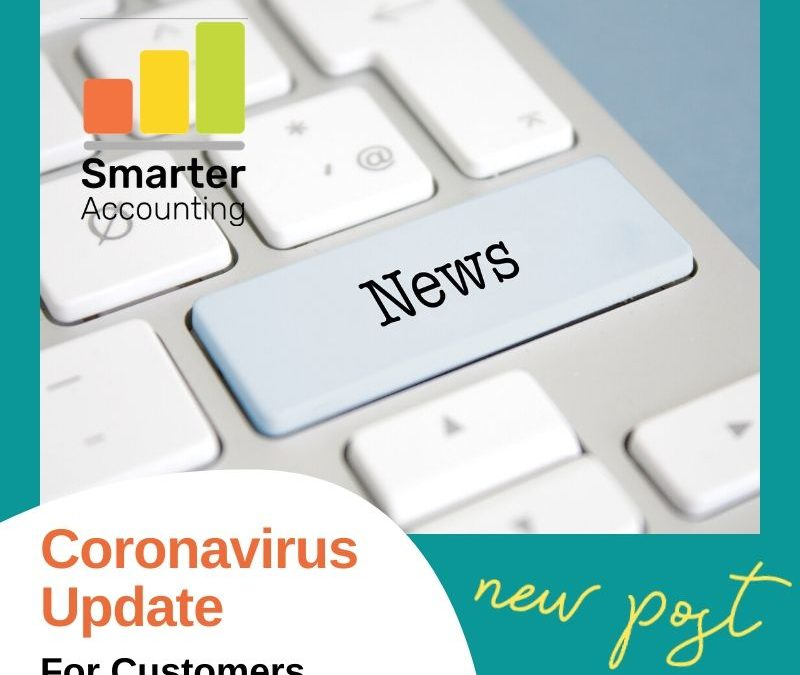 Coronavirus Update for Customers