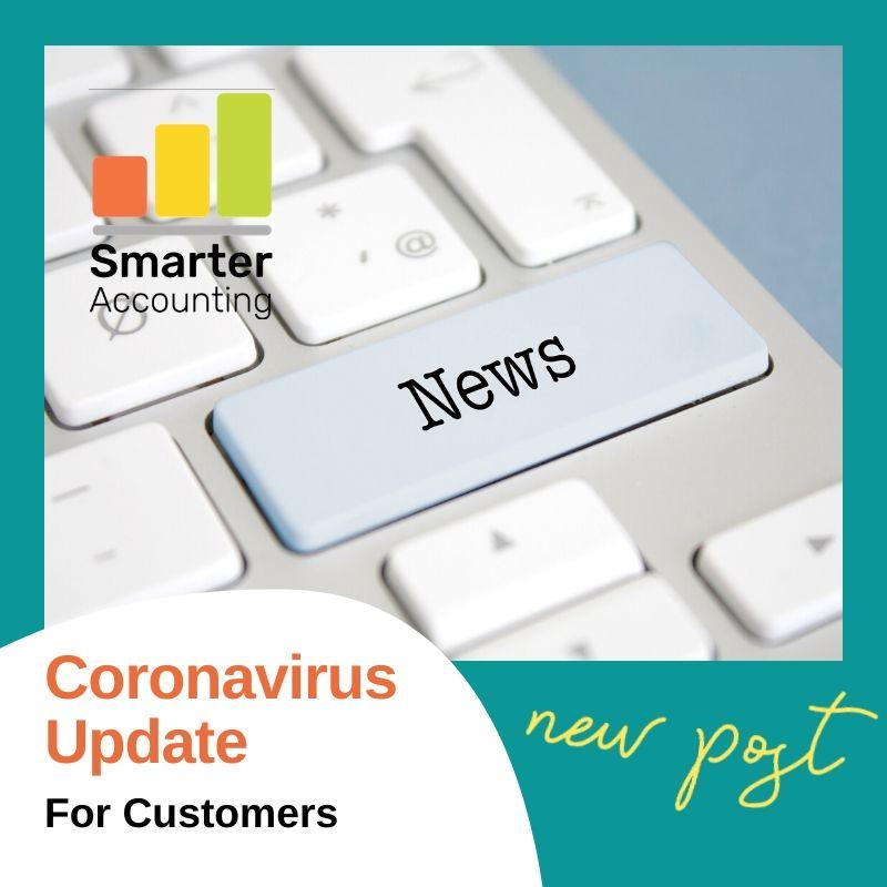 Coronavirus Update for Customers